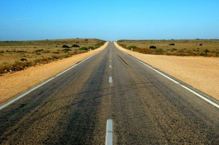 шоссе Eyre Highway австралия 1 (700x466, 273Kb)