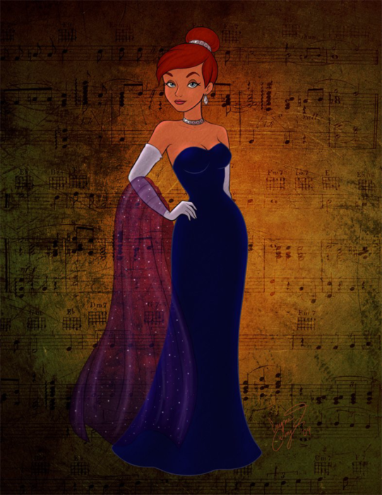 Платье как в мультике анастасия