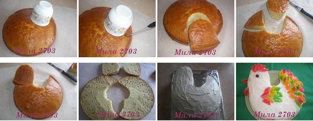 Торты из коржей своими руками рецепты на день рождения