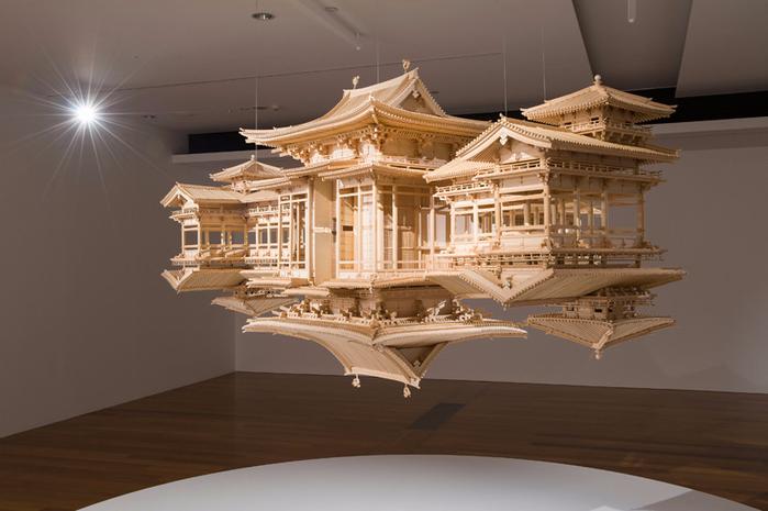 деревянная копия храма Byodo-в 1 (700x465, 275Kb)
