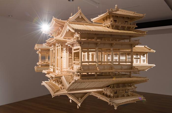 деревянная копия храма Byodo-в 4 (700x460, 308Kb)