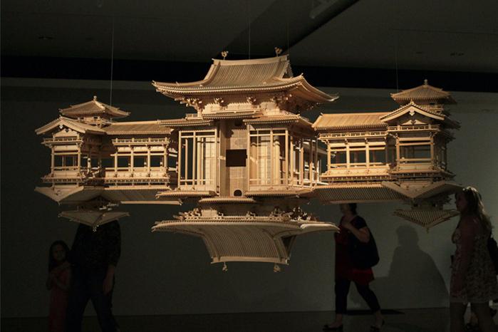 деревянная копия храма Byodo-в 5 (700x466, 361Kb)
