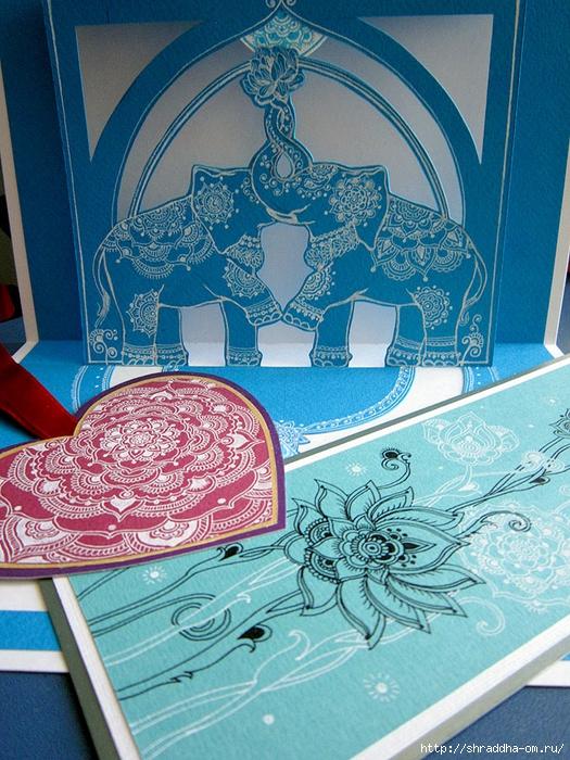 3D-открытка, слоны, автор Shraddha (1) (525x700, 391Kb)