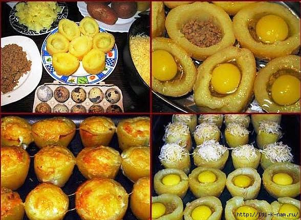 как запечь картофель, рецепты блюд с перепелиными яйцами, вкусная закуска в духовке, /1426633558_cjfk (588x431, 219Kb)