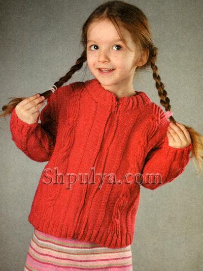 Вязание для детей 3-х лет спицами с описанием