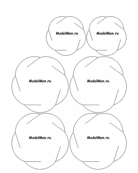 Новогодний шарик из бумаги схема своими руками