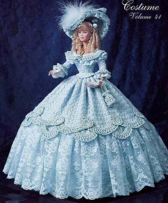 Бальное платья для барби своими руками фото