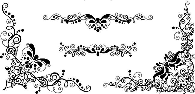 Все трафареты и шаблоны для точечной росписи