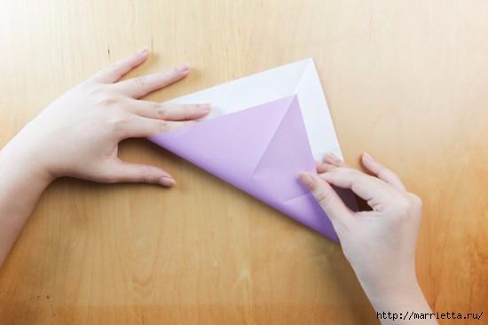 Как сложить тюльпаны в технике оригами (1) (550x367, 80Kb)