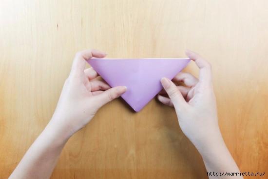 Как сложить тюльпаны в технике оригами (5) (550x367, 77Kb)