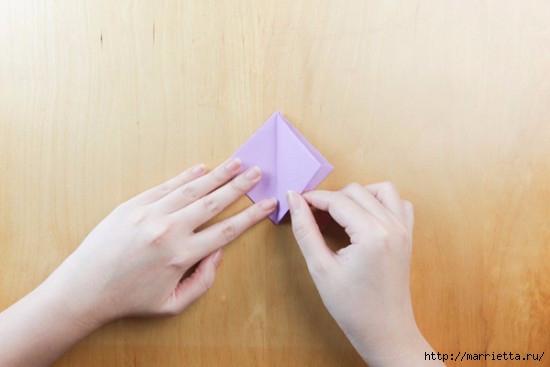 Как сложить тюльпаны в технике оригами (9) (550x367, 78Kb)