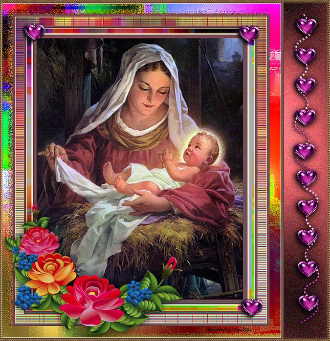 Рождение христа (675x700, 884Kb)