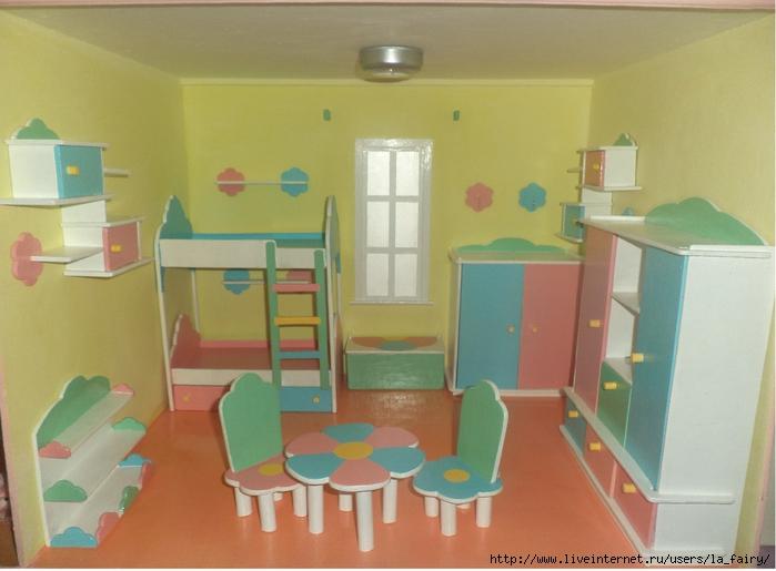 Мебель в детскую своими руками из фанеры 22
