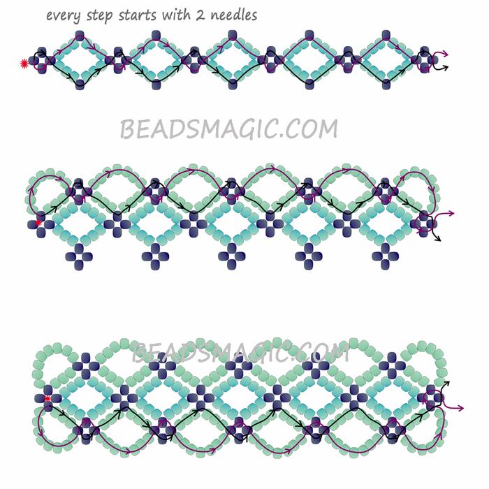 freee-beading-bracelet-tutorial-2-1 (700x700, 373Kb)