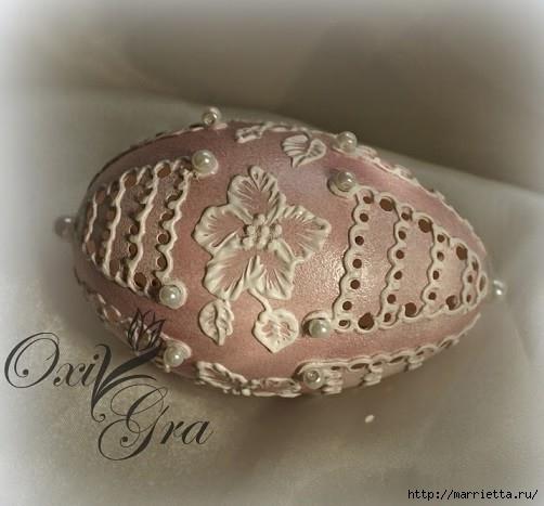 Очень красивые пасхальные яйца (1) (502x467, 122Kb)