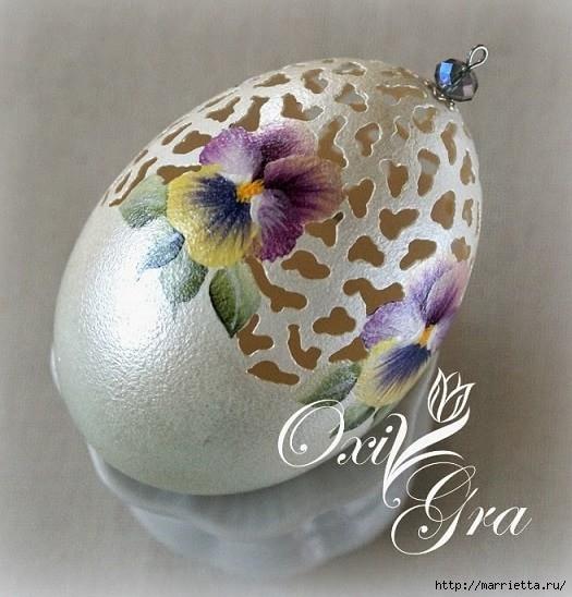 Очень красивые пасхальные яйца (33) (525x548, 189Kb)