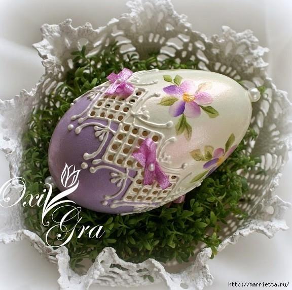 Очень красивые пасхальные яйца (35) (576x571, 217Kb)