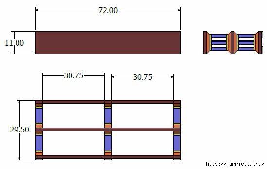 Книжная полка или подставка под телевизор своими руками (4) (549x347, 47Kb)