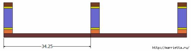 Книжная полка или подставка под телевизор своими руками (16) (620x166, 19Kb)