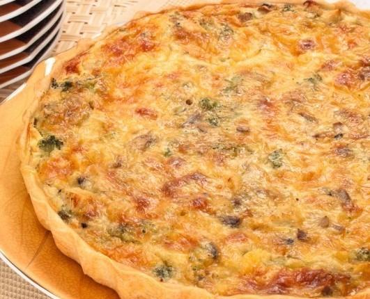 Лоранский пирог курицей рецепт с фото