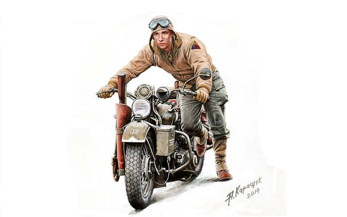 Wallpaper_5246_Soldier_Pushing_Moto (700x437, 162Kb)