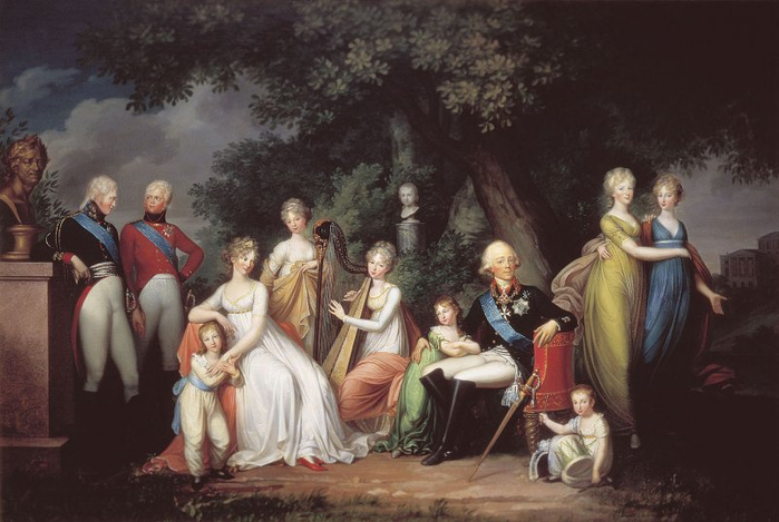 02 -Family_of_Paul_I_of_Russia (700x469, 288Kb)