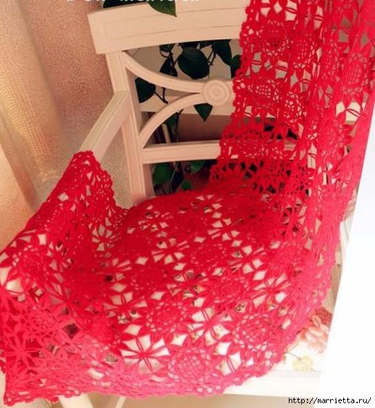 红钩花披肩。图(2),(544x592 219Kb)
