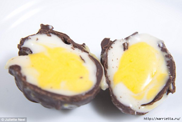 Шоколадные пасхальные яйца с кремовой начинкой (5) (600x401, 96Kb)