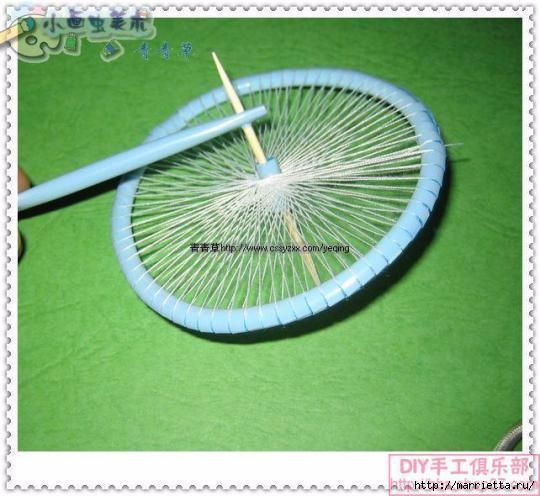 Велосипед из трубочек для коктейлей (18) (540x496, 143Kb)