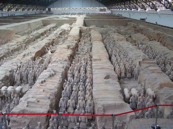 терракотовая армия китай 1 (700x525, 412Kb)