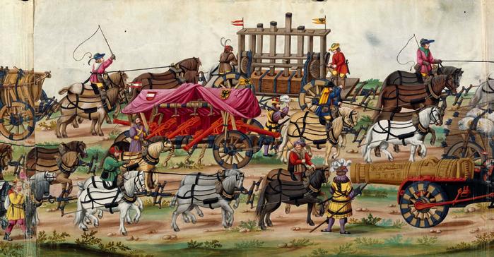 Triunfo del Emperador Maximiliano I, Rey de Hungría, Dalmacia y Croacia, Archiduque de Austria [Manuscrito (700x364, 514Kb)