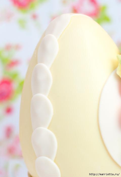 Сахарные розы для украшения шоколадных пасхальных яиц (16) (478x700, 129Kb)
