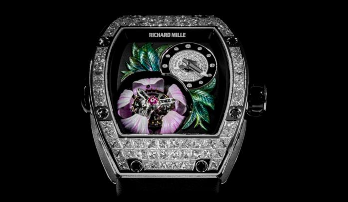 швейцарские часы Richard Mille RM 19-02 Tourbillon Fleur 2 (700x406, 193Kb)