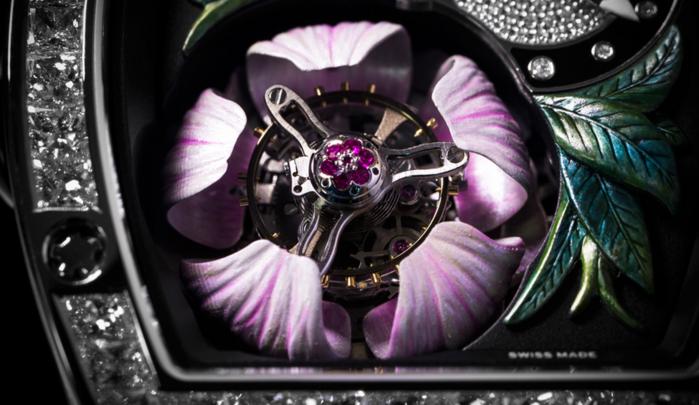 швейцарские часы Richard Mille RM 19-02 Tourbillon Fleur 4 (700x405, 448Kb)