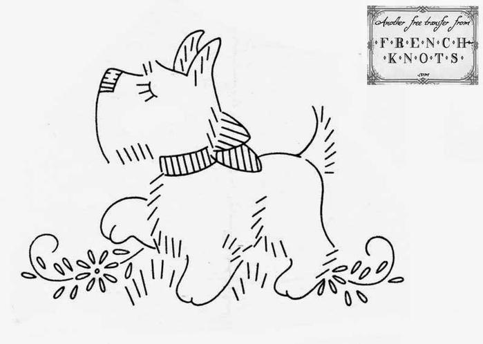 Вышивка собачки на косметичке (6) (700x498, 102Kb)