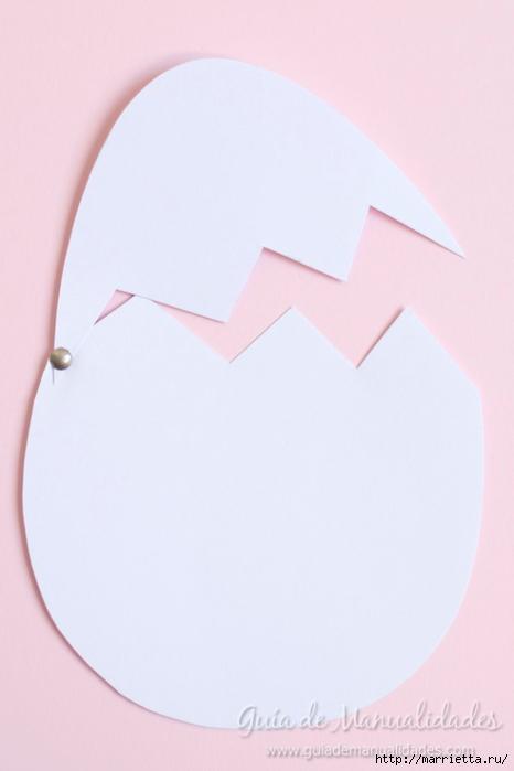 Детский вариант пасхальной открытки (4) (466x700, 122Kb)