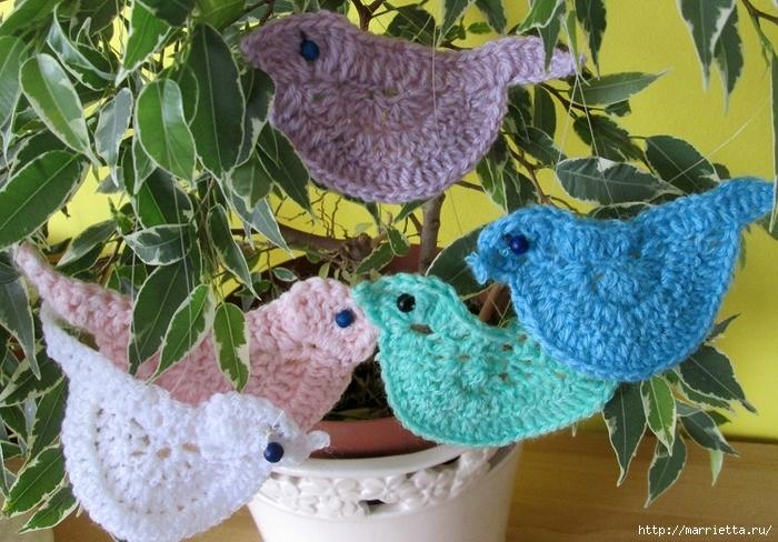 El pájaro decorativo - gancho de suspensión (5) (700x488, 320Kb)