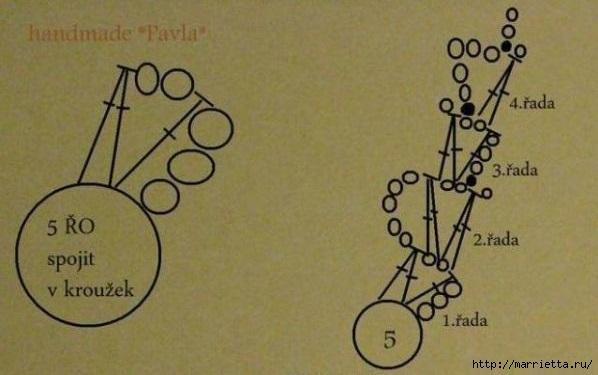 El pájaro decorativo - gancho de suspensión (33) (598x375, 113KB)