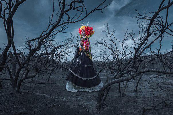 мексиканский праздник Las Muertas 7 (604x403, 254Kb)