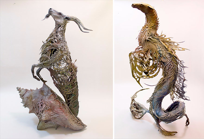 скульптуры Эллен Джеветт 6 (700x478, 297Kb)
