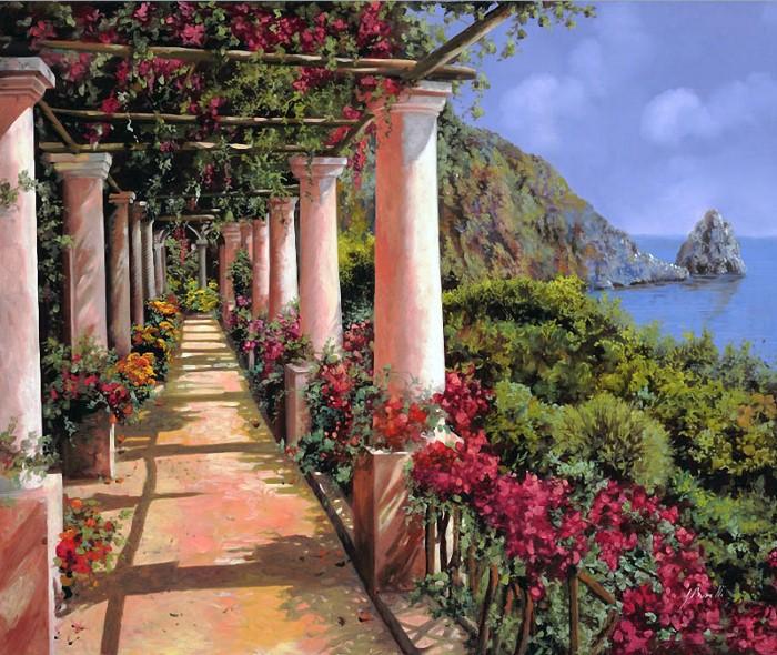 Итальянские пейзажи Гвидо Борелли (Guido Borelli)