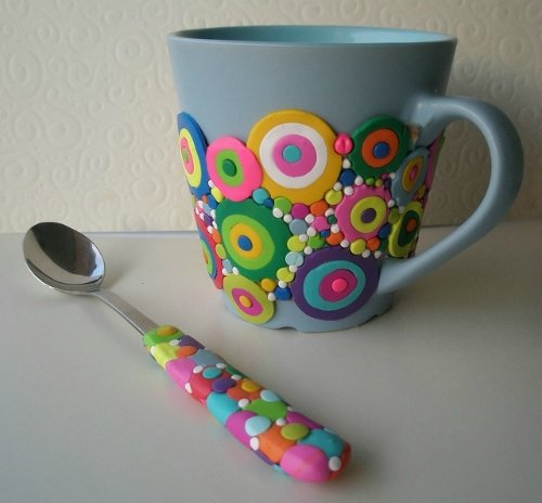 Как украсить чашки своими руками
