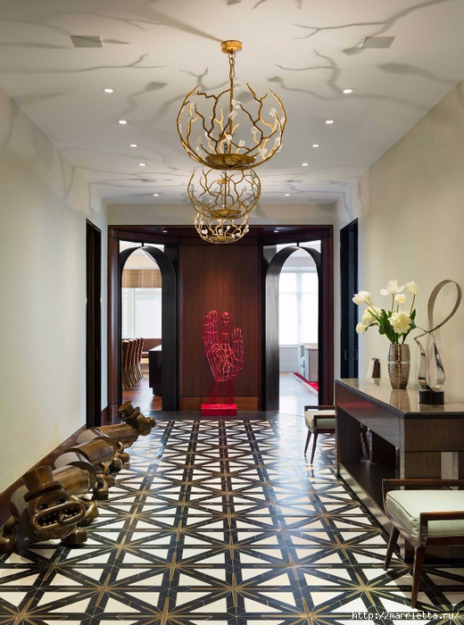 Дизайн интерьера одной квартиры в Нью-Йорке (9) (520x700, 292Kb)