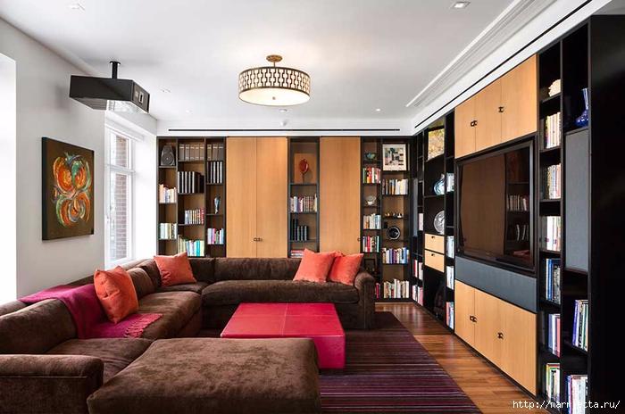 Дизайн интерьера одной квартиры в Нью-Йорке (14) (700x464, 232Kb)