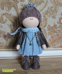 Еще одна #выкройка маленькой куклы в стиле Татьяны Коннэ Doll's therapy. .  Для заболевших куклами.