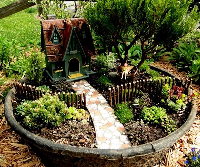 Дизайн сада своими руками картинки фото