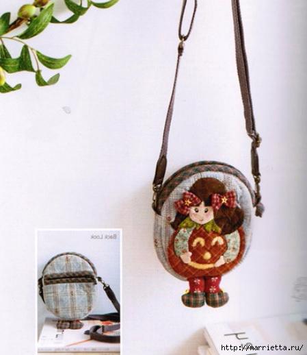Очень симпатичная детская сумочка с аппликацией (1) (449x518, 120Kb)