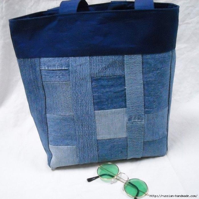 Модные сумки из старых джинсов (10) (700x700, 237Kb)