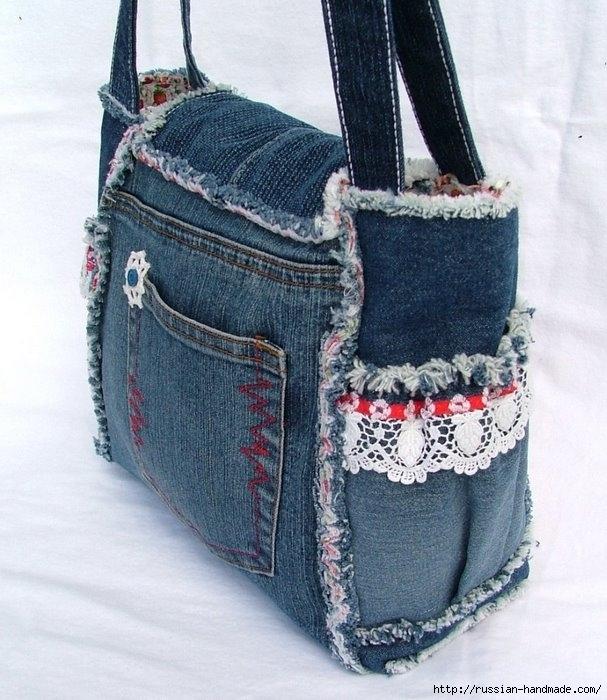 Модные сумки из старых джинсов (20) (607x700, 253Kb)