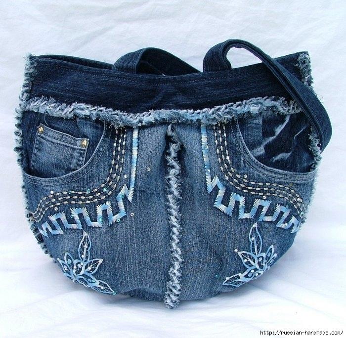 Модные сумки из старых джинсов (24) (700x684, 322Kb)